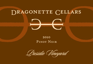 2010 Pinot Noir, Presidio Vineyard