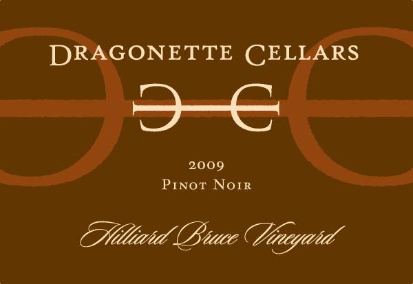 2009 Pinot Noir Hilliard Bruce Vineyard