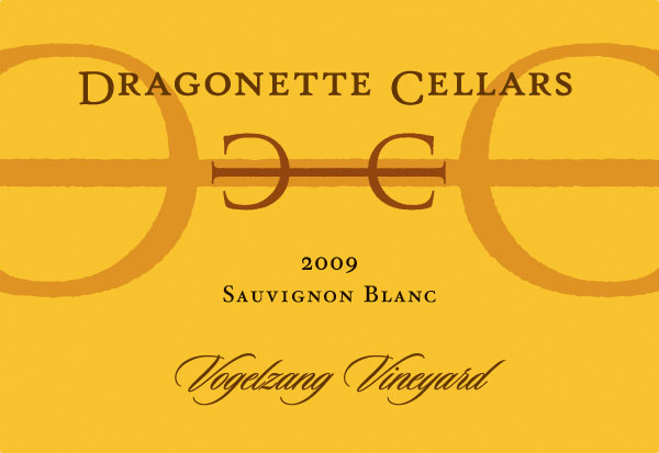 2009 Sauvignon Blanc, Vogelzang Vineyard