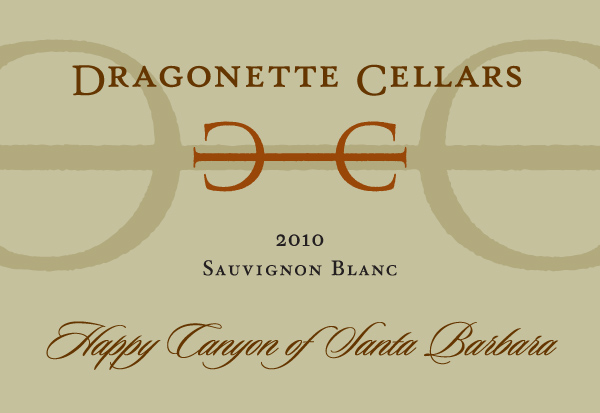2010 Sauvignon Blanc, Happy Canyon of Santa Barbara