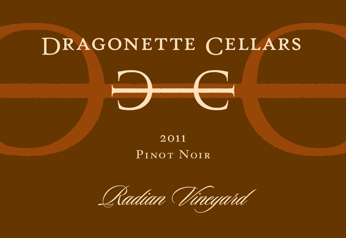 2011 Pinot Noir, Radian Vineyard