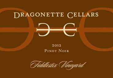 2012 Pinot Noir, Fiddlestix Vineyard