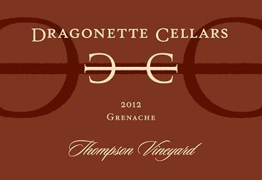2012 Grenache, Thompson Vineyard