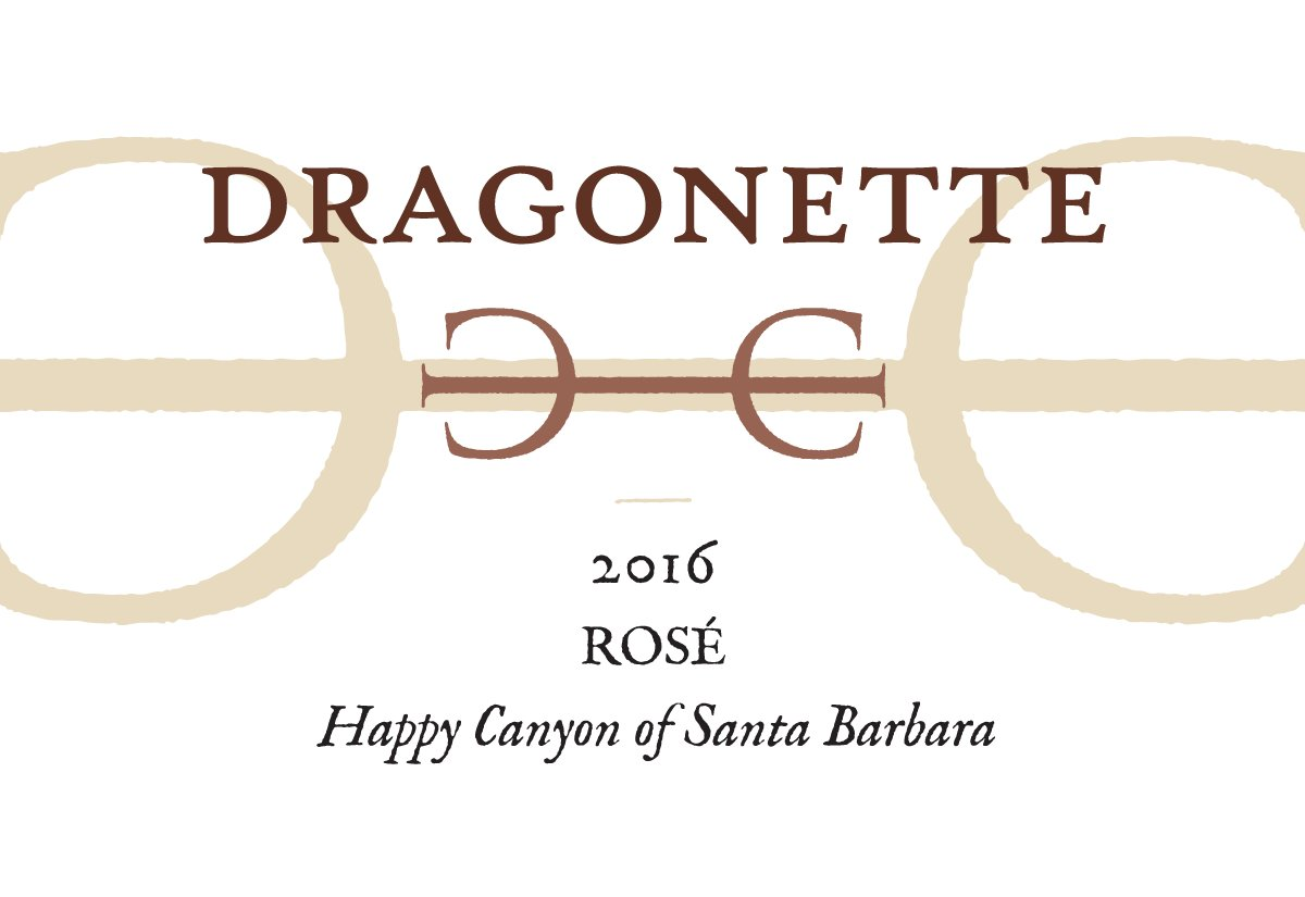2016 Rosé, Happy Canyon of Santa Barbara ** SOLD OUT **