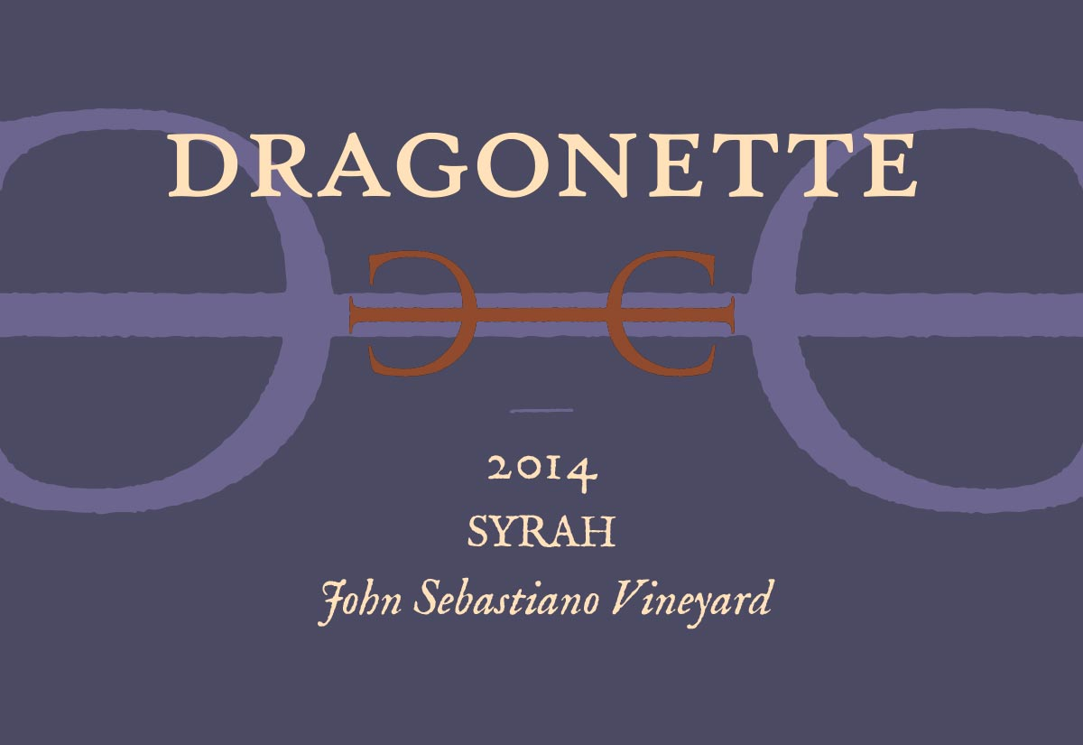2014 Syrah, John Sebastiano Vineyard **SOLD OUT**