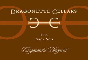 2013 Pinot Noir, Cargasacchi Vineyard
