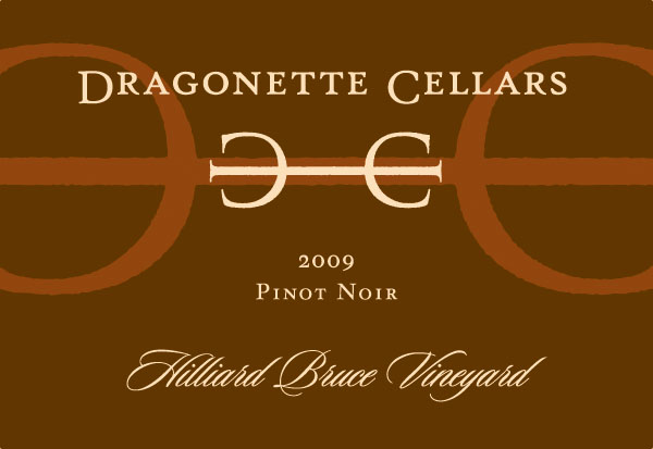 2009 Pinot Noir Hilliard Bruce Vineyard