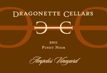 2011 Pinot Noir, Ampelos Vineyard