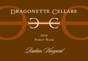 2012 Pinot Noir, Radian Vineyard