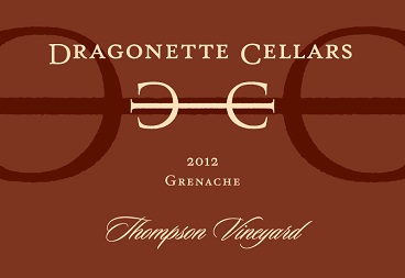 2012 Grenache, Thompson Vineyard