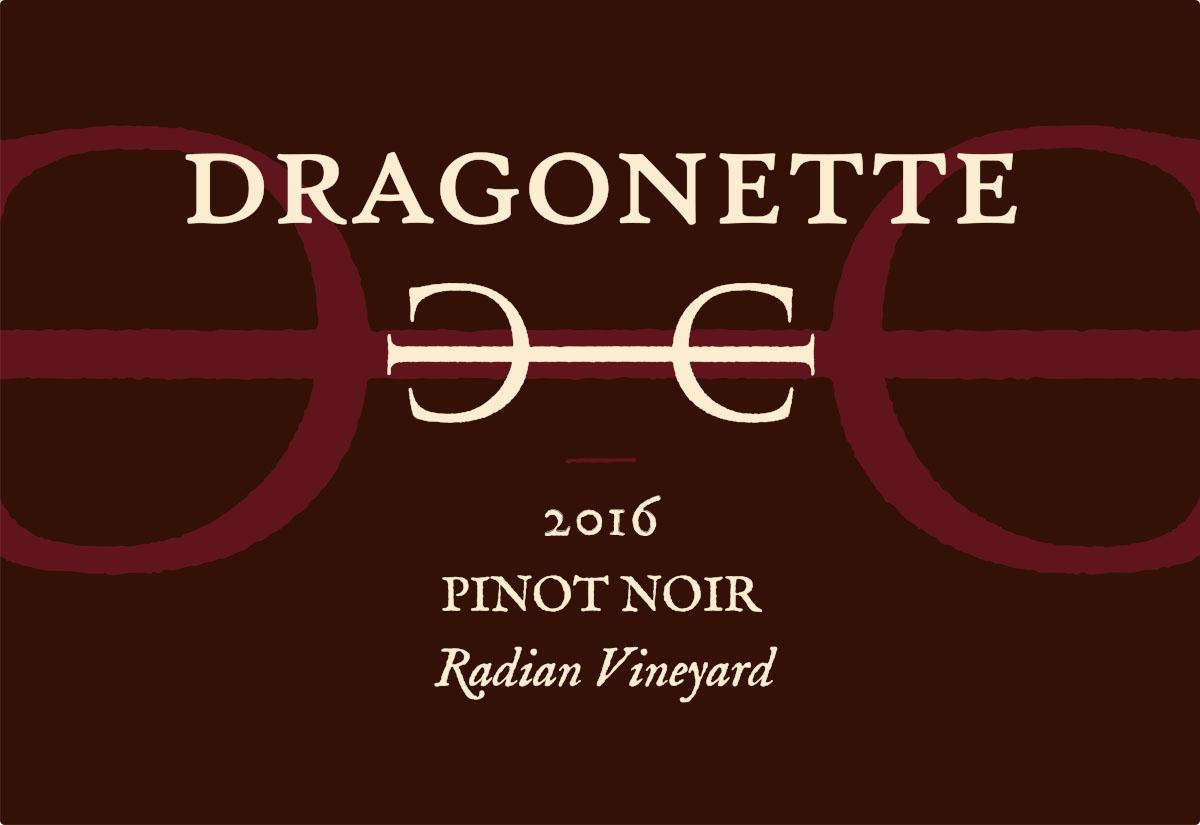 2016 Pinot Noir, Radian Vineyard