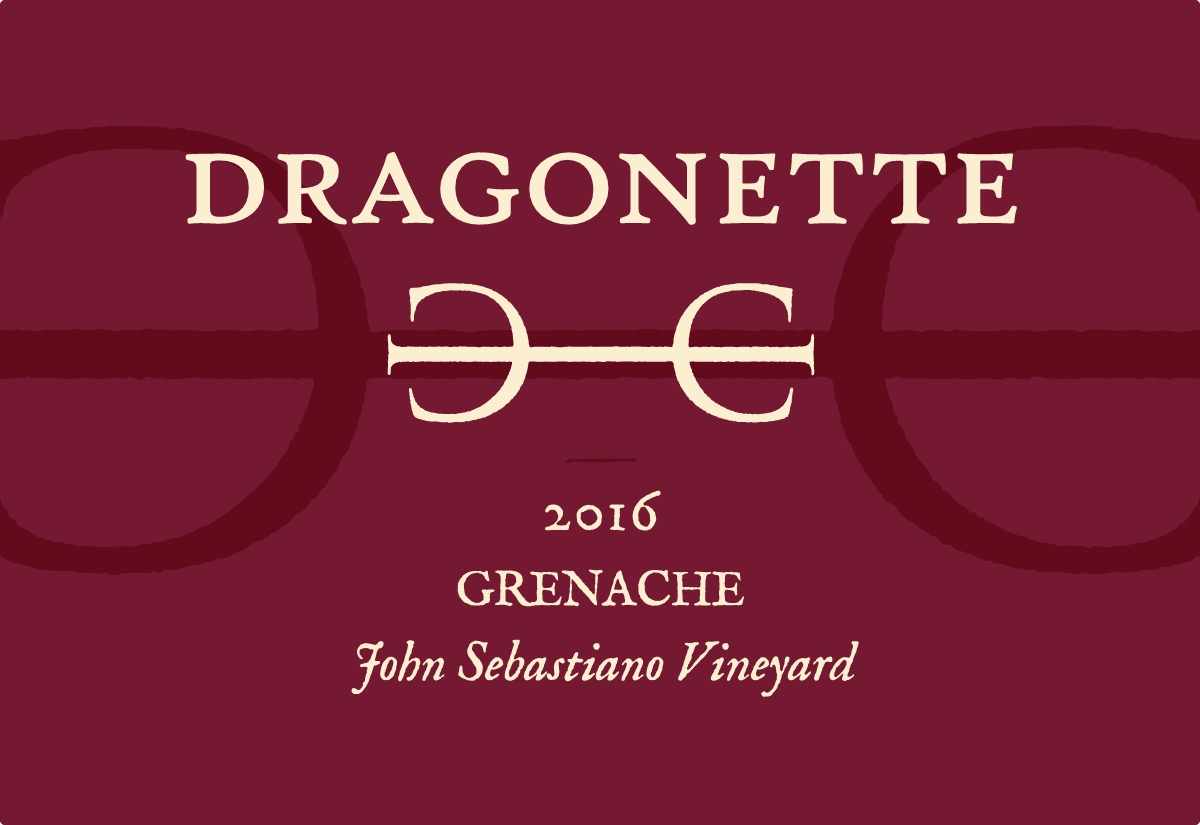2016 Grenache, John Sebastiano Vineyard