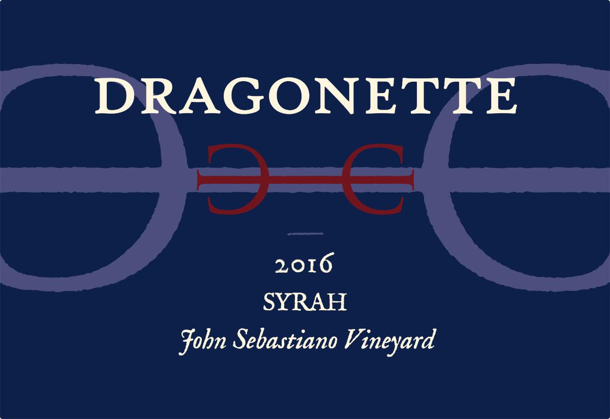 2016 Syrah, John Sebastiano Vineyard