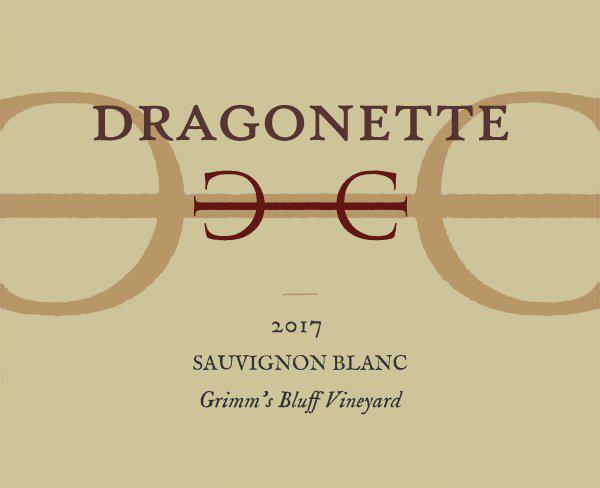 2017 Sauvignon Blanc, Grimm's Bluff Vineyard