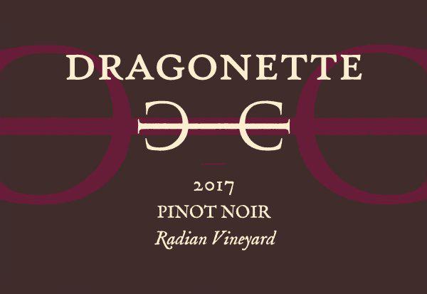 2017 Pinot Noir, Radian Vineyard