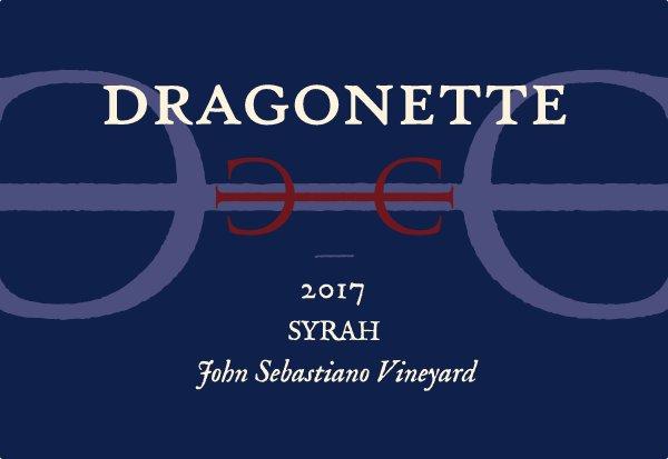 2017 Syrah, John Sebastiano Vineyard