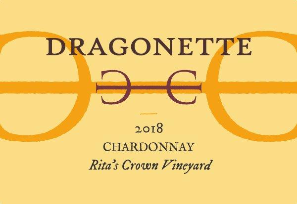 2018 Chardonnay, Rita's Crown Vineyard