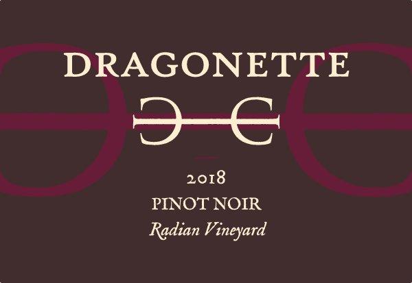 2018 Pinot Noir, Radian Vineyard