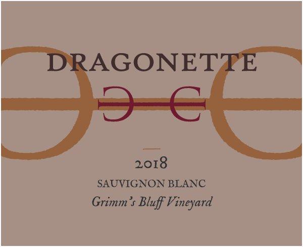 2018 Sauvignon Blanc, Grimm's Bluff Vineyard