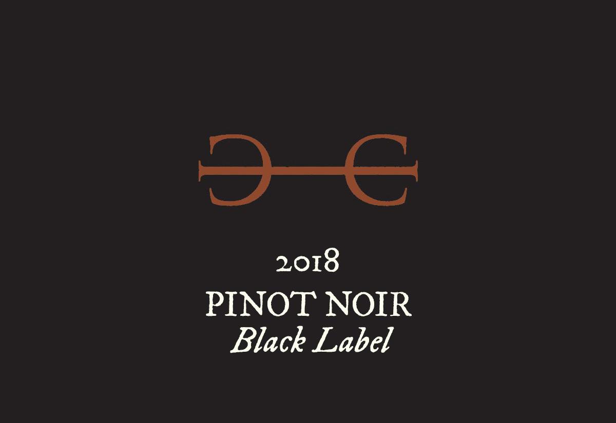 2018 Pinot Noir, Black Label