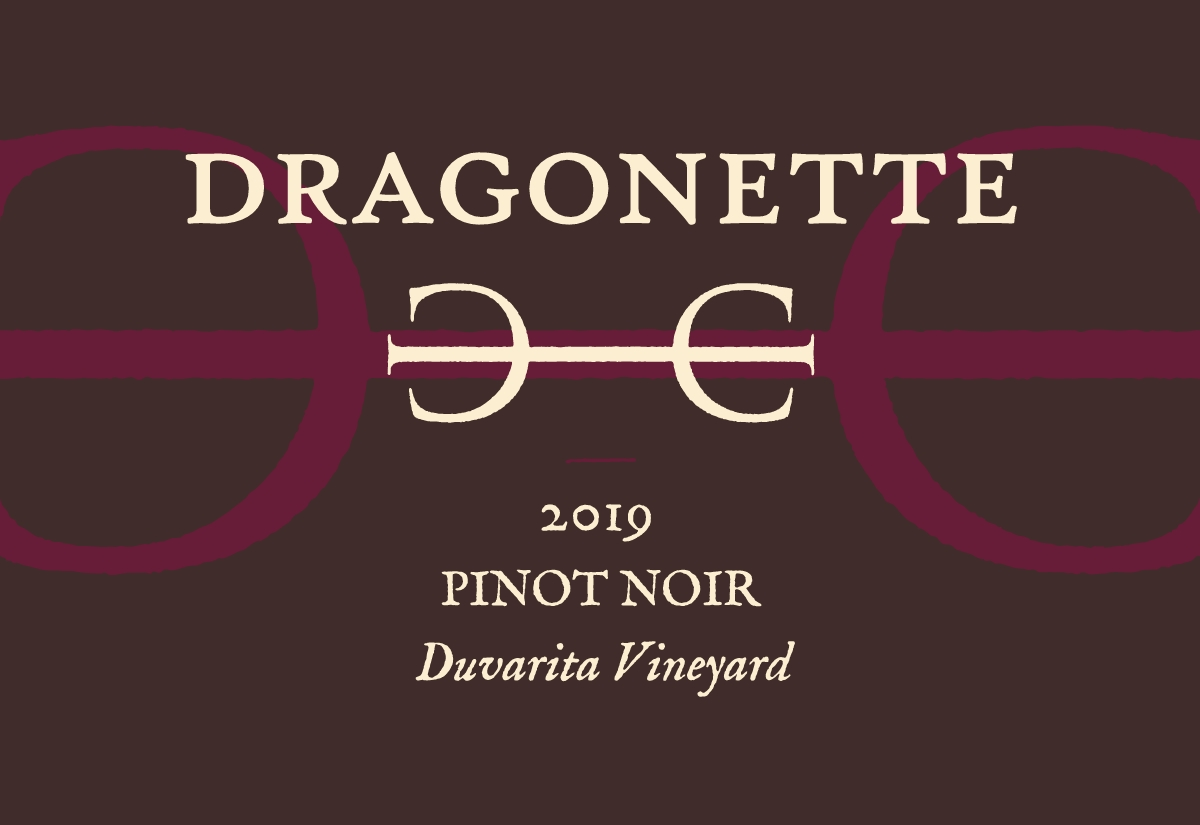 2019 Pinot Noir, Duvarita Vineyard