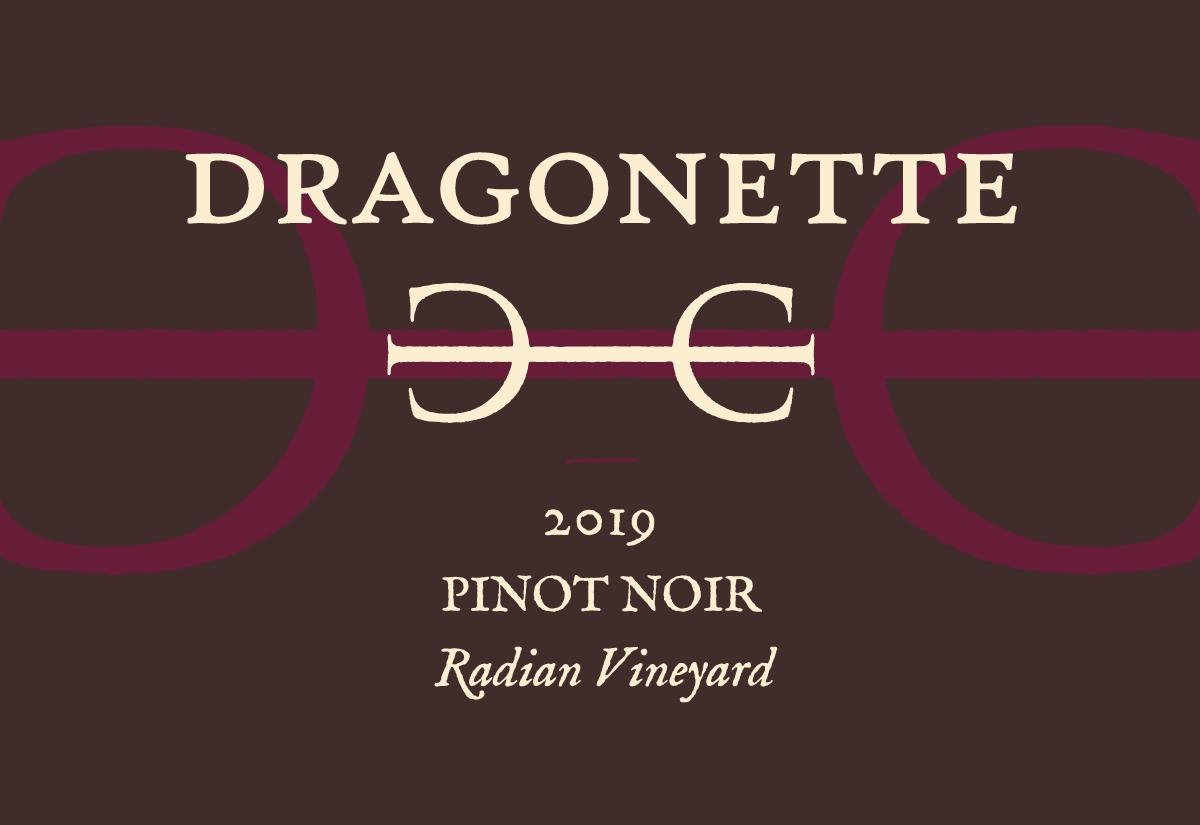 2019 Pinot Noir, Radian Vineyard
