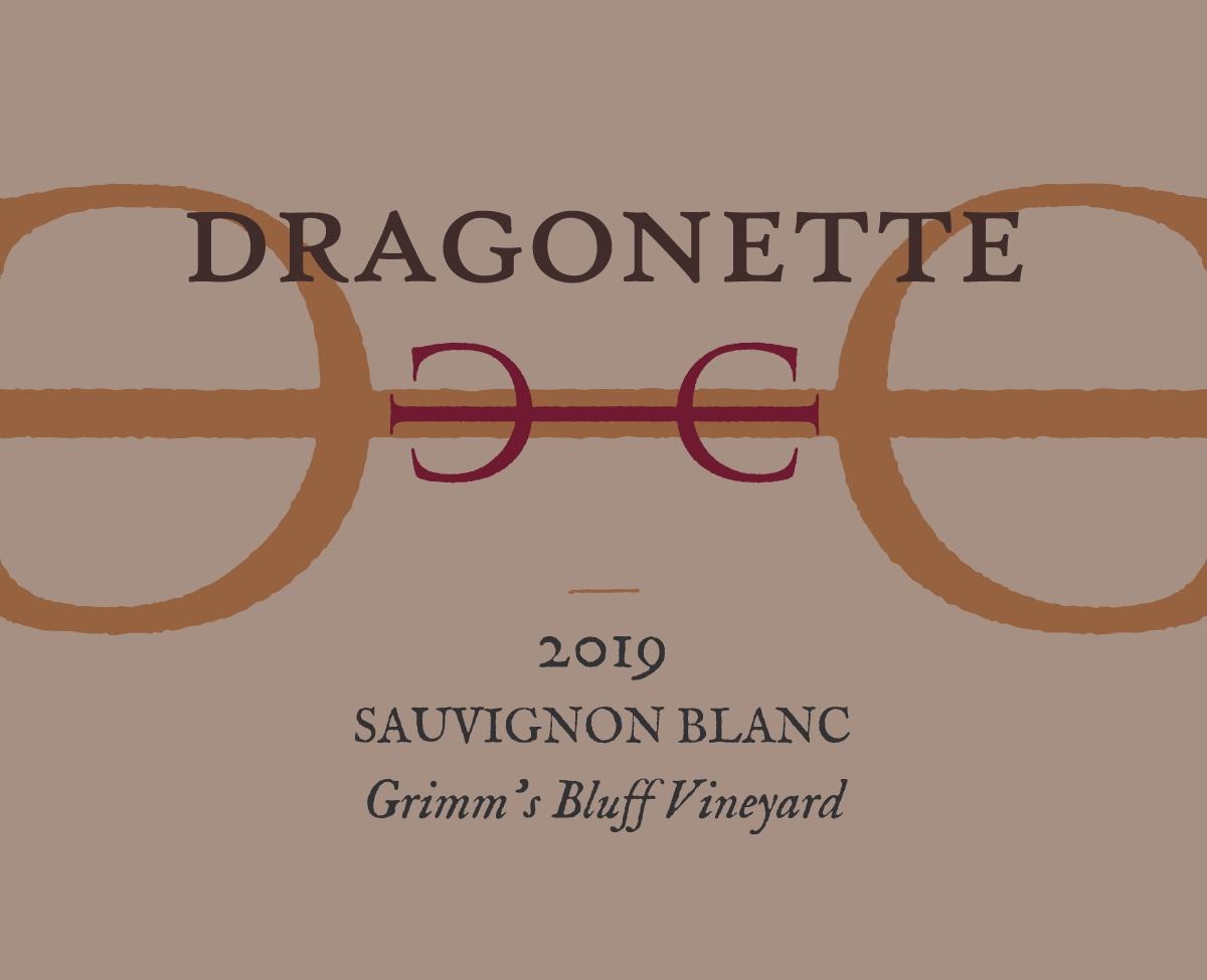2019 Sauvignon Blanc, Grimm's Bluff Vineyard