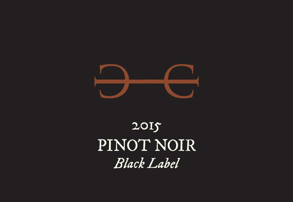 "2015 Pinot Noir, ""Black Label"" **WINE CLUB ONLY**"