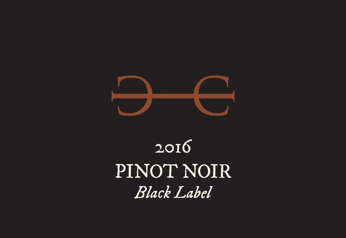 2016 Pinot Noir, Black Label
