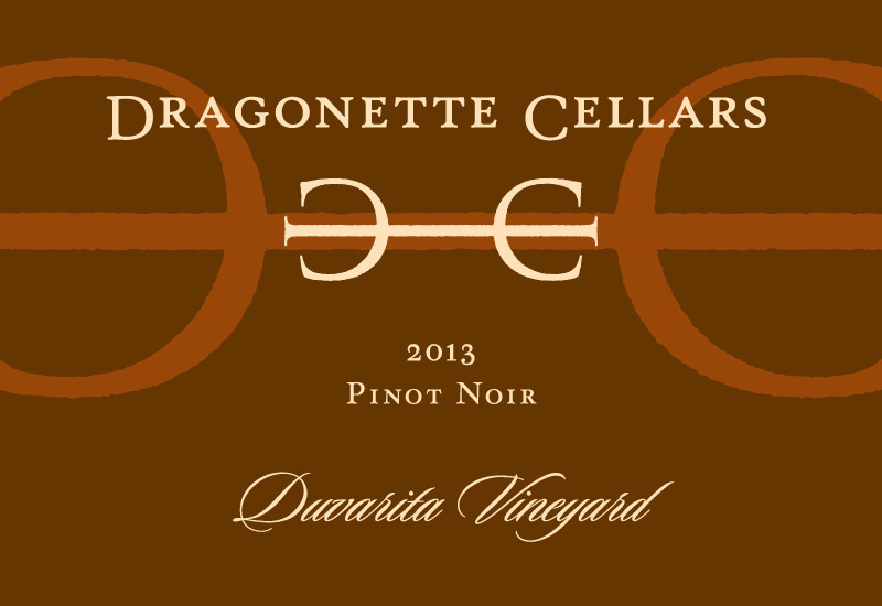 2013 Pinot Noir, Duvarita Vineyard **SOLD OUT**