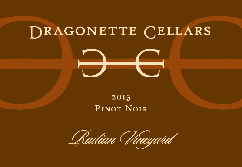2013 Pinot Noir, Radian Vineyard **SOLD OUT**