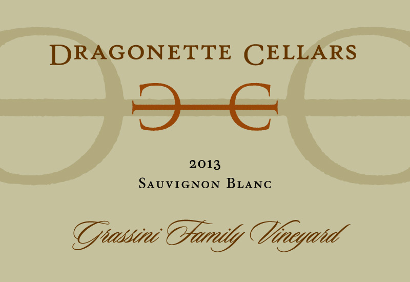 2013 Sauvignon Blanc, Grassini Vineyard **SOLD OUT**