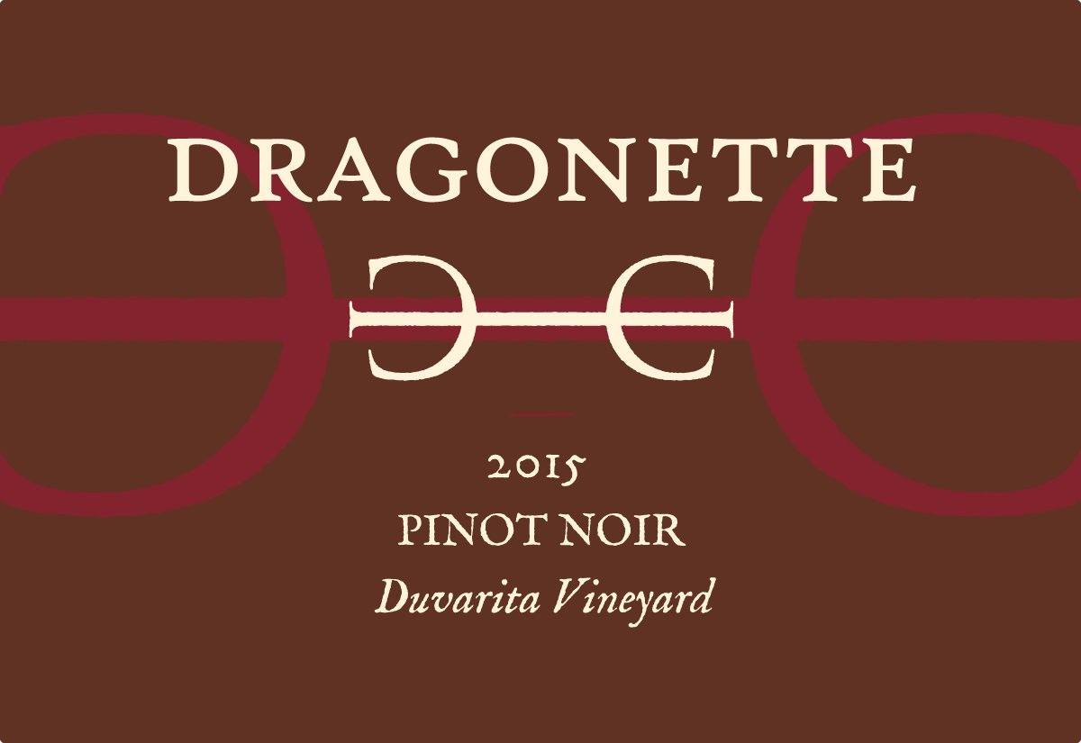 2015 Pinot Noir, Duvarita Vineyard **SOLD OUT**