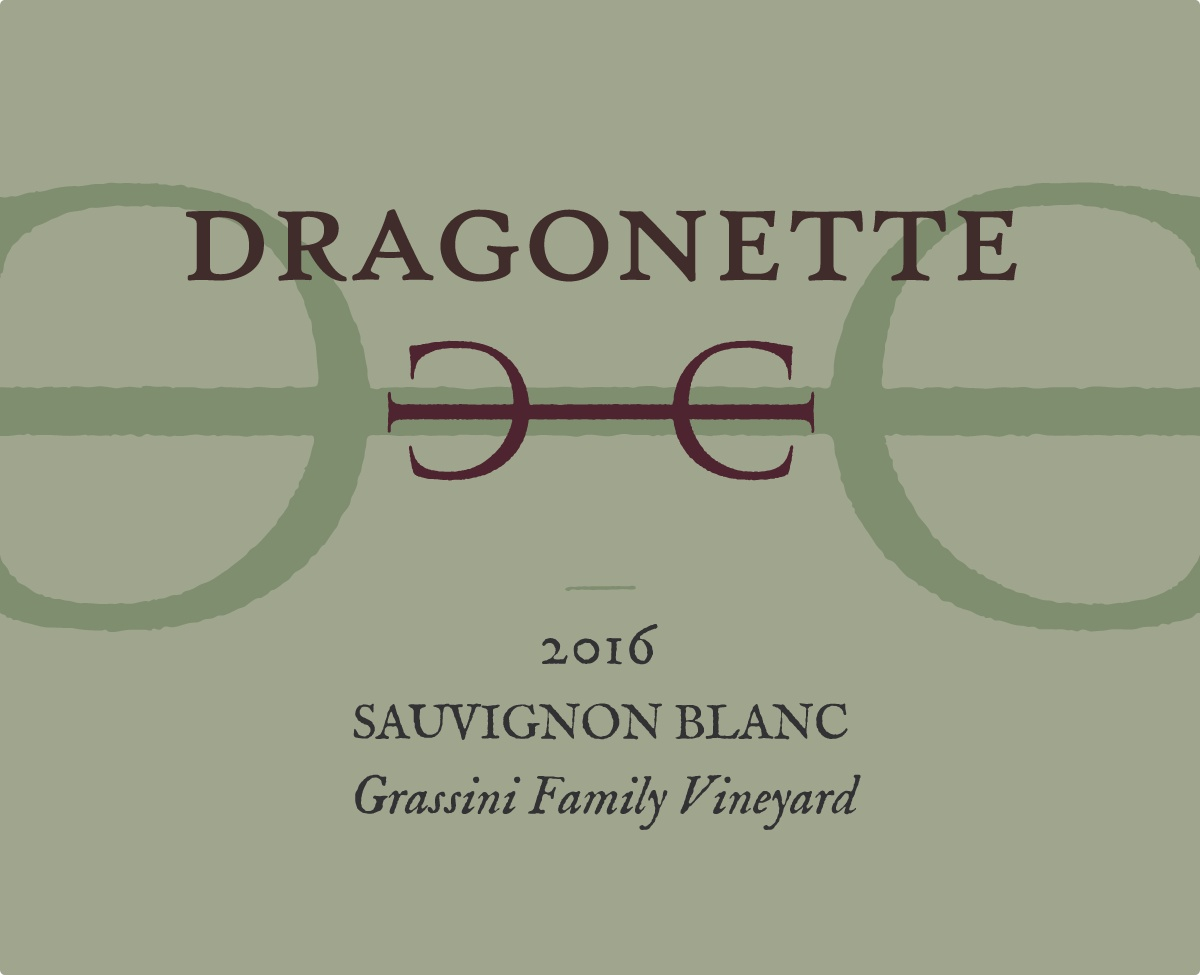 2016 Sauvignon Blanc, Grassini Vineyard **SOLD OUT**