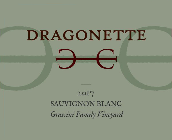 2017 Sauvignon Blanc, Grassini Family Vineyard ** Wine Club Only **