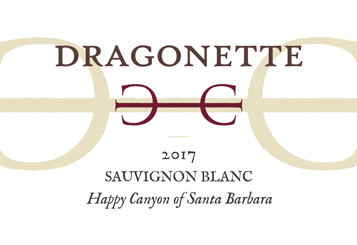 2017 Sauvignon Blanc, Happy Canyon of Santa Barbara ** SOLD OUT **