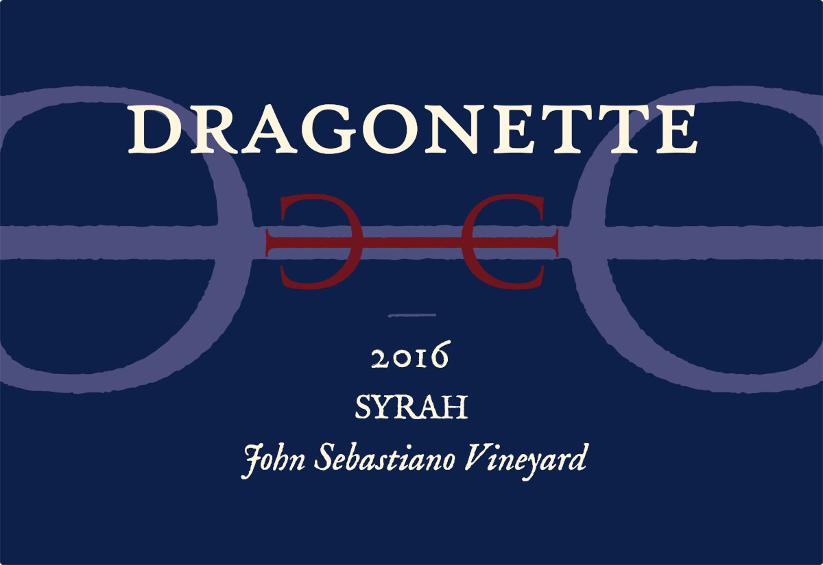 2016 Syrah, John Sebastiano Vineyard **WINE CLUB EXCLUSIVE**