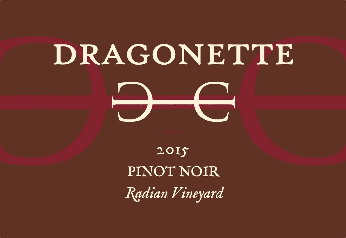 2015 Pinot Noir, Radian Vineyard **SOLD OUT**