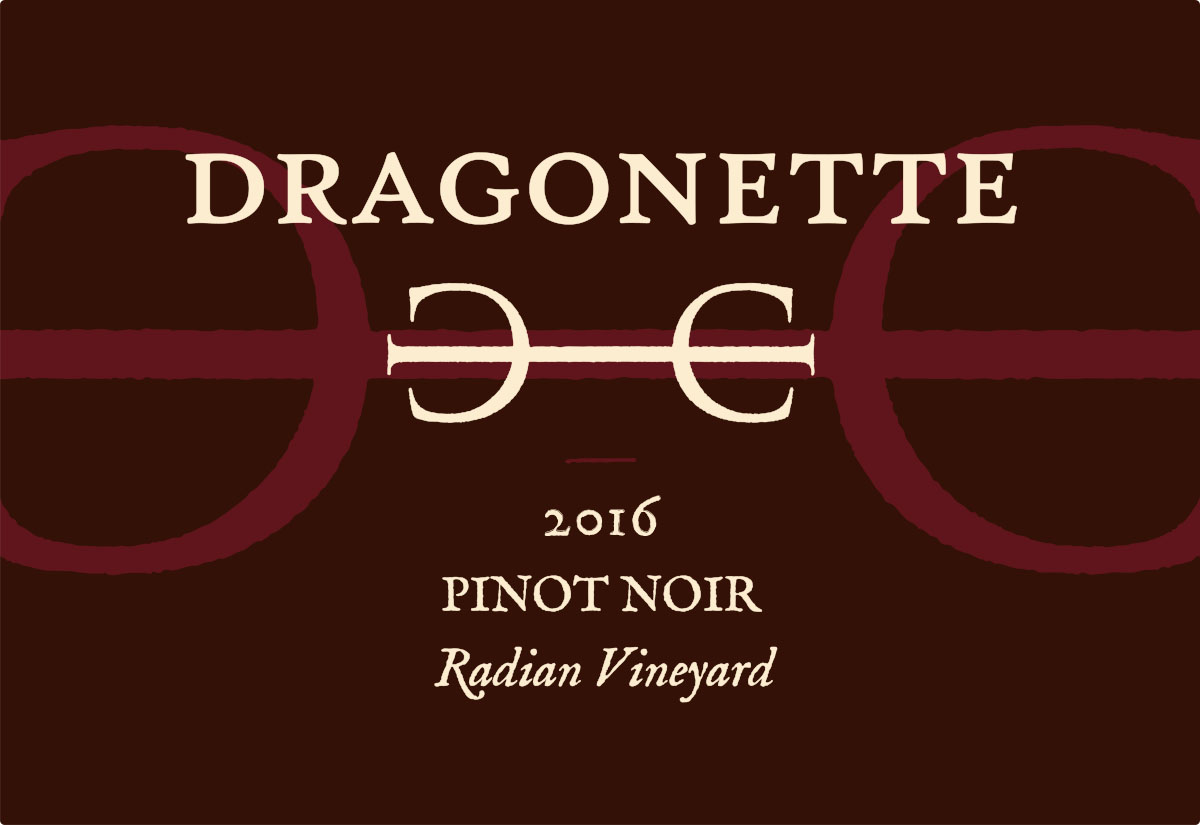 2016 Pinot Noir, Radian Vineyard **SOLD OUT**