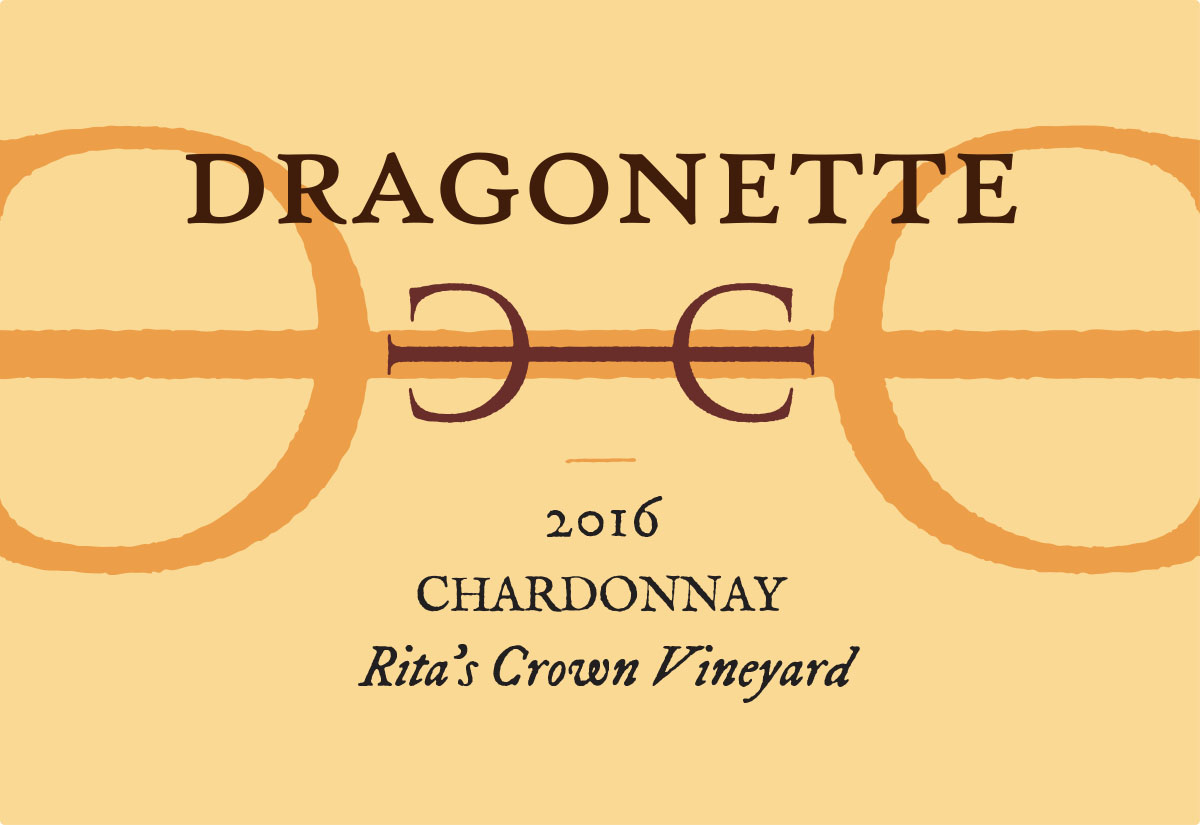 2016 Chardonnay, Rita's Crown Vineyard