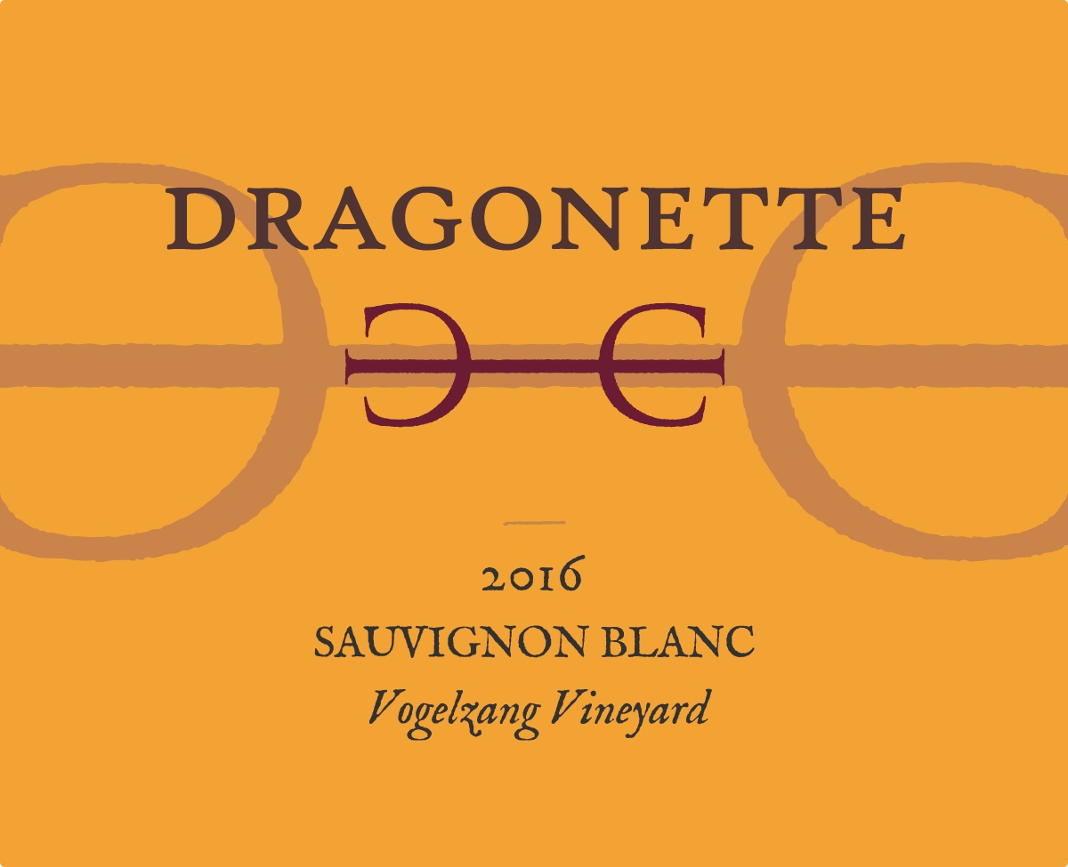 2016 Sauvignon Blanc, Vogelzang Vineyard ** SOLD OUT **