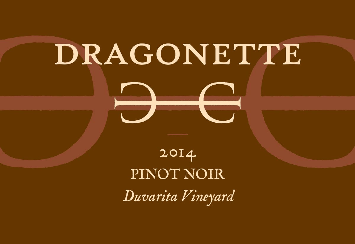 2014 Pinot Noir, Duvarita Vineyard **SOLD OUT**