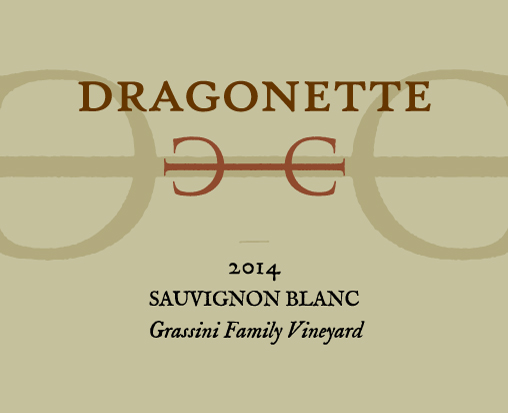 2014 Sauvignon Blanc, Grassini Vineyard ** SOLD OUT **
