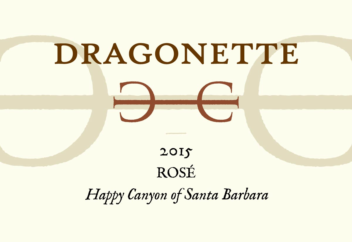 2015 Rosé, Happy Canyon of Santa Barbara **SOLD OUT**