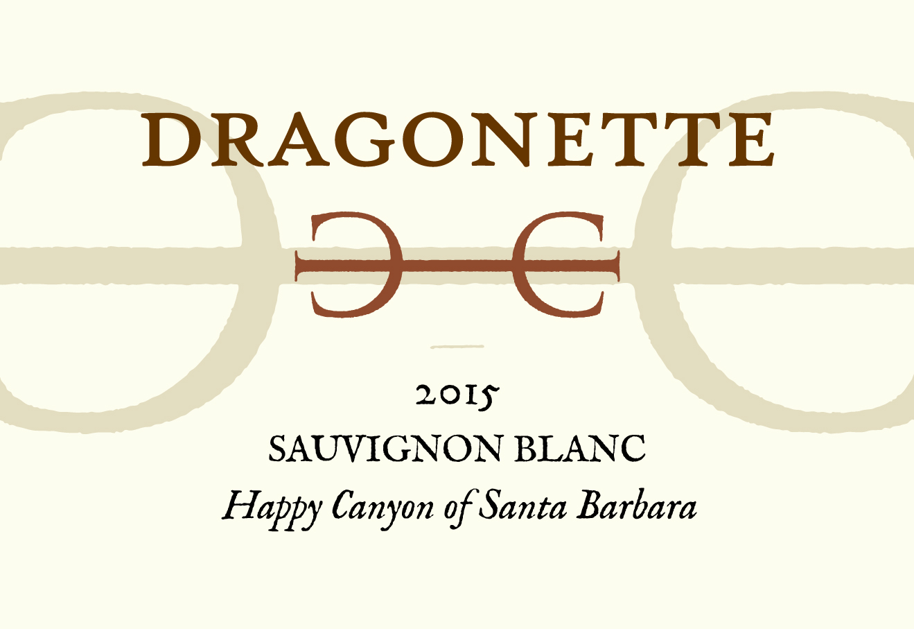 2015 Sauvignon Blanc, Happy Canyon of Santa Barbara **SOLD OUT**