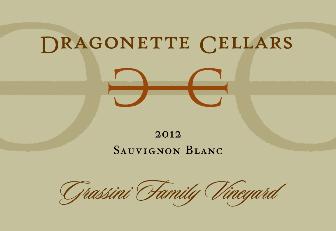 2012 Sauvignon Blanc, Grassini **SOLD OUT**