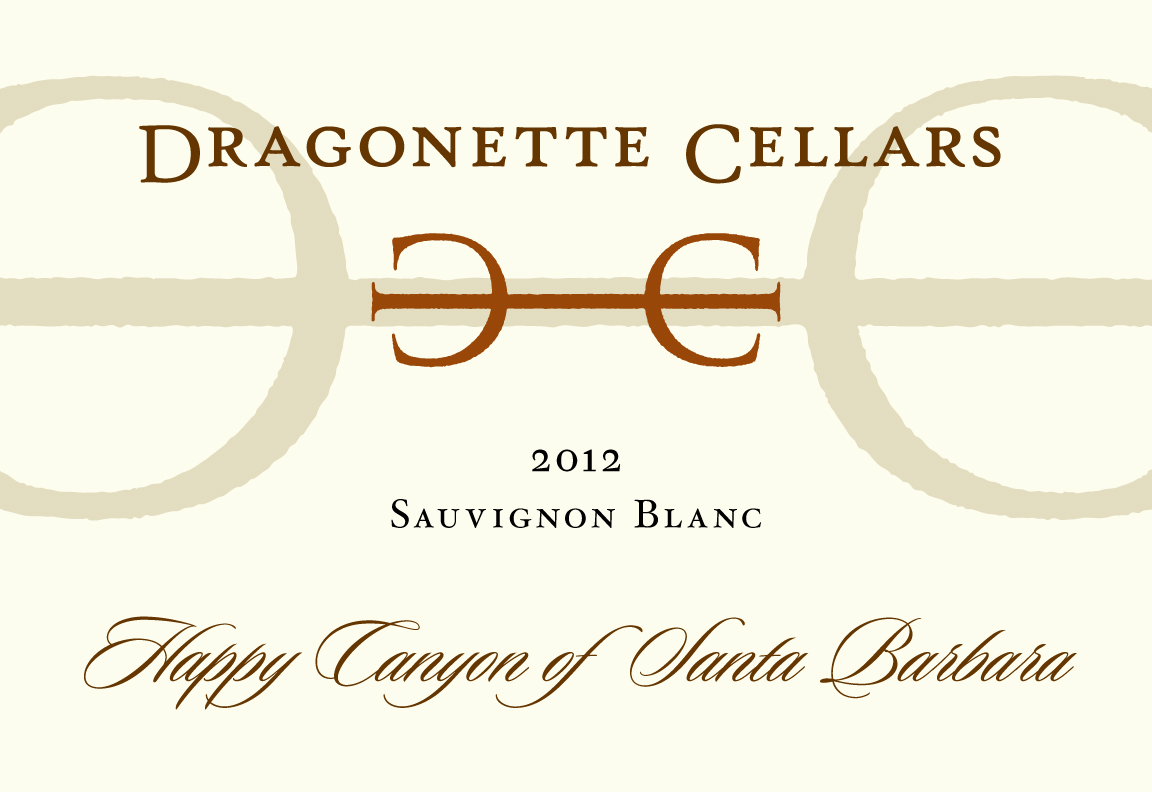 2012 Sauvignon Blanc, Happy Canyon **SOLD OUT**