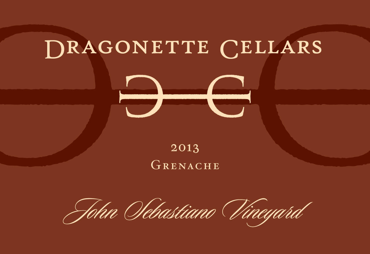 2013 Grenache, John Sebastiano Vineyard **SOLD OUT**