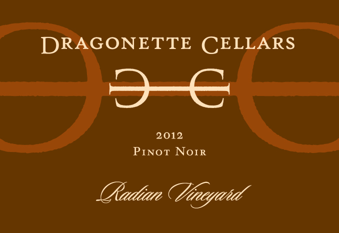 2012 Pinot Noir, Radian ** SOLD OUT **